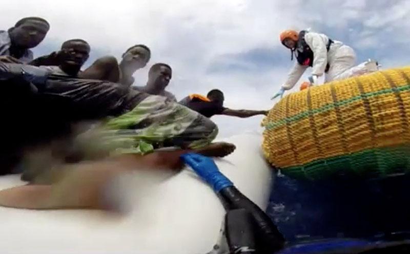 Спасение мигрантов