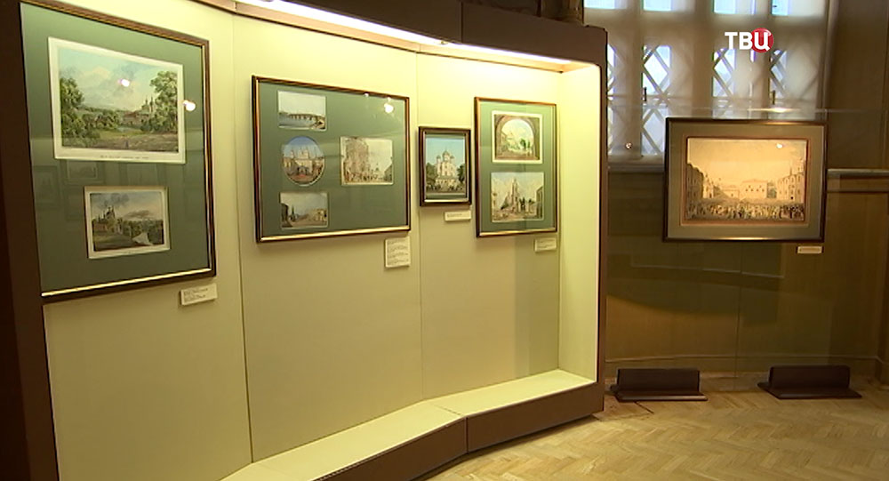 Выставка пейзажей старой Москвы в Историческом музее