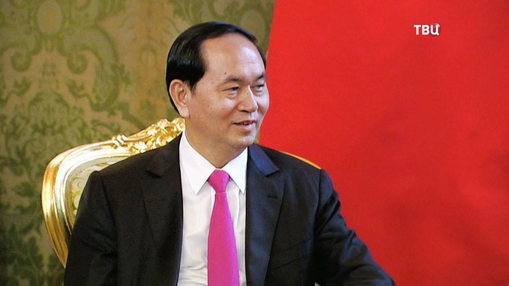 Президент Вьетнама Нгуен Суан Фук в Москве
