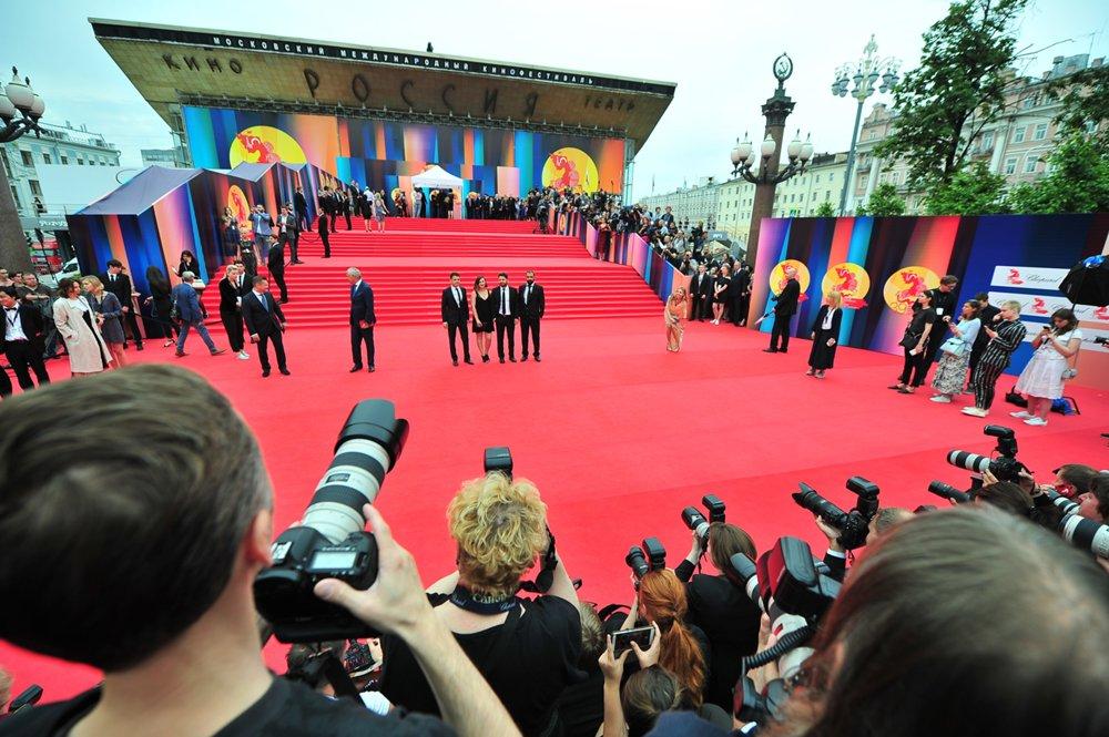 Церемония закрытия Московского международного кинофестиваля