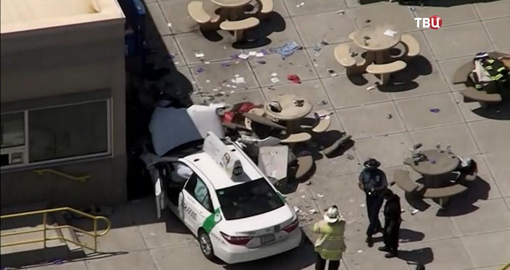 Последствия наезда на пешеходов в Бостоне