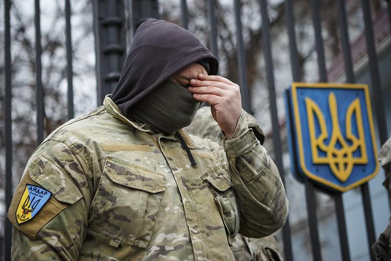 """Солдат ВСУ батальона """"Айдар"""""""
