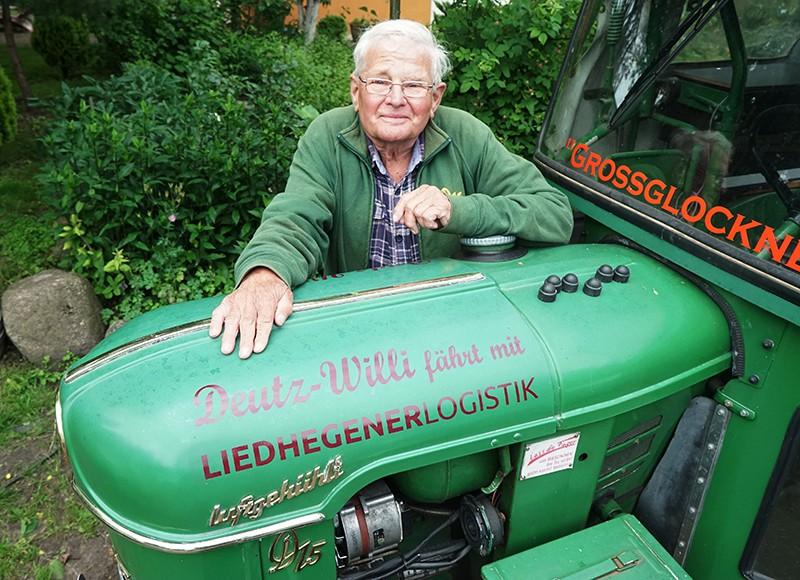 Немецкий пенсионер Винфрид Лангнер