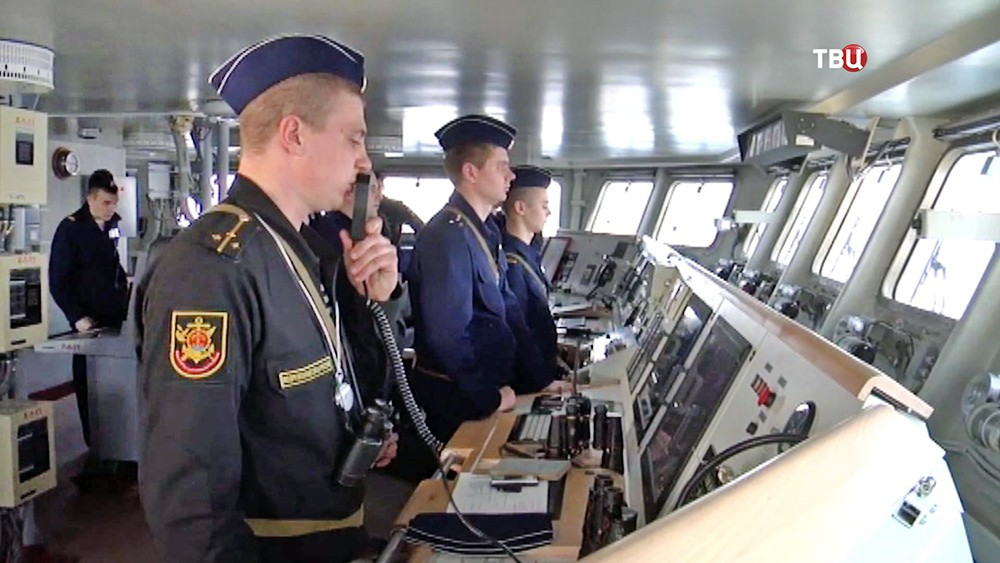 """Экипаж фрегата """"Адмирал Эссен"""""""