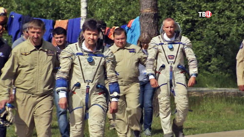 Тренировка экипажа МКС