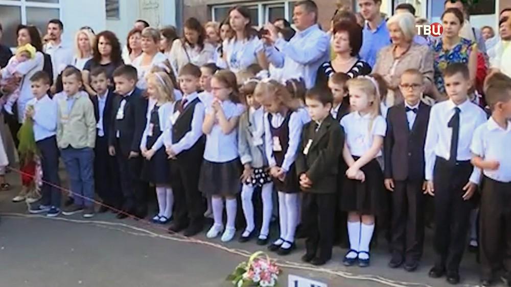 Дети венгрской общины проживающие в Закарпатье