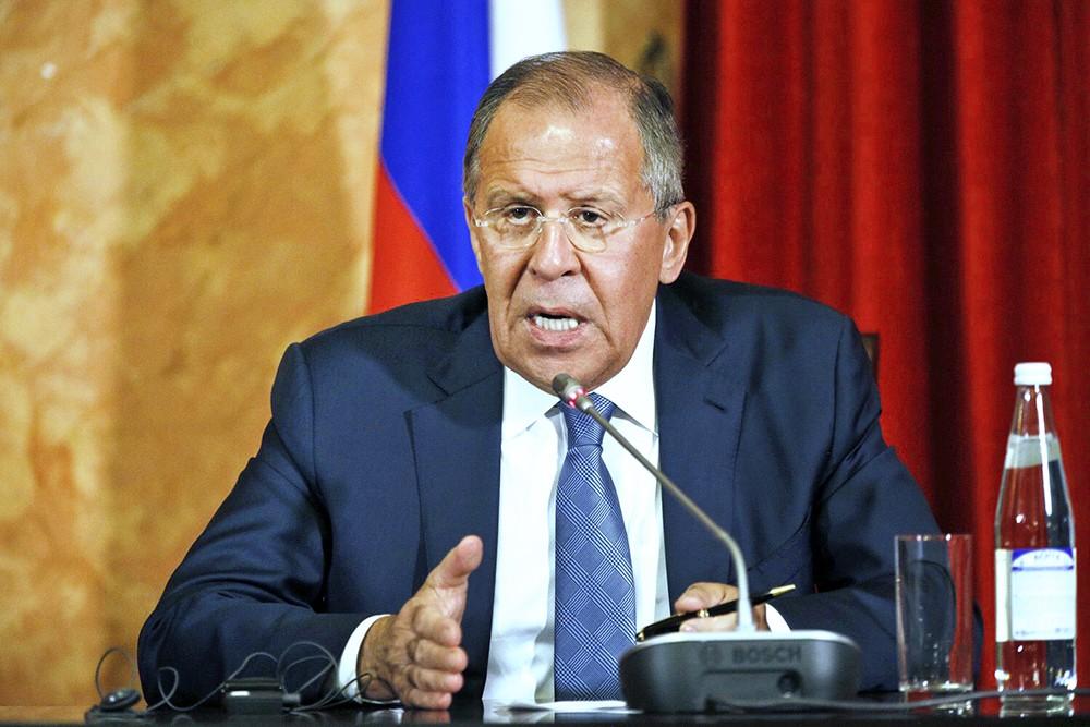 Глава МИД России Сергей Лавров