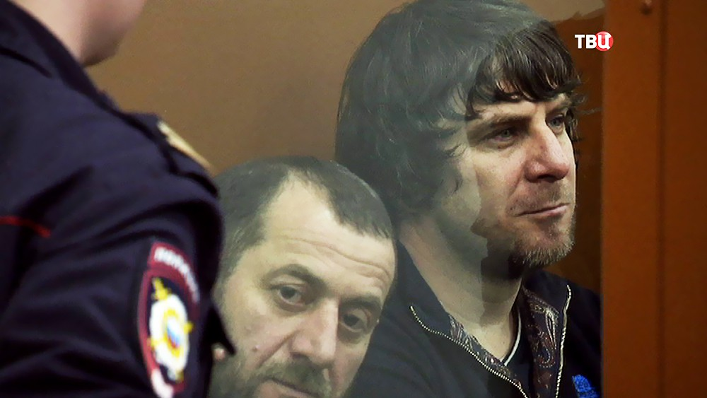 Обвиняемые в убийстве Бориса Немцова в суде