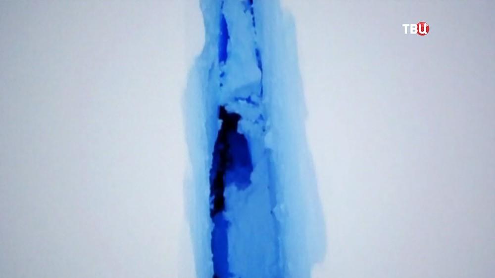 Отколовшийся айсберг