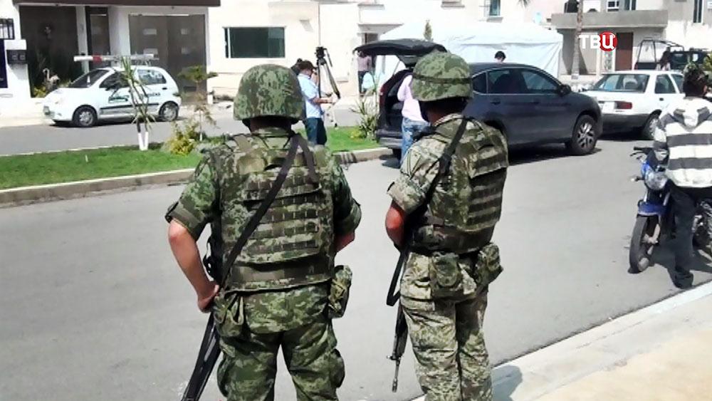 Военная полиция Мексики