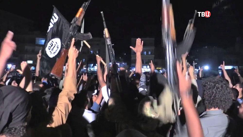 Боевики запрещенной в России террористической организации ИГИЛ