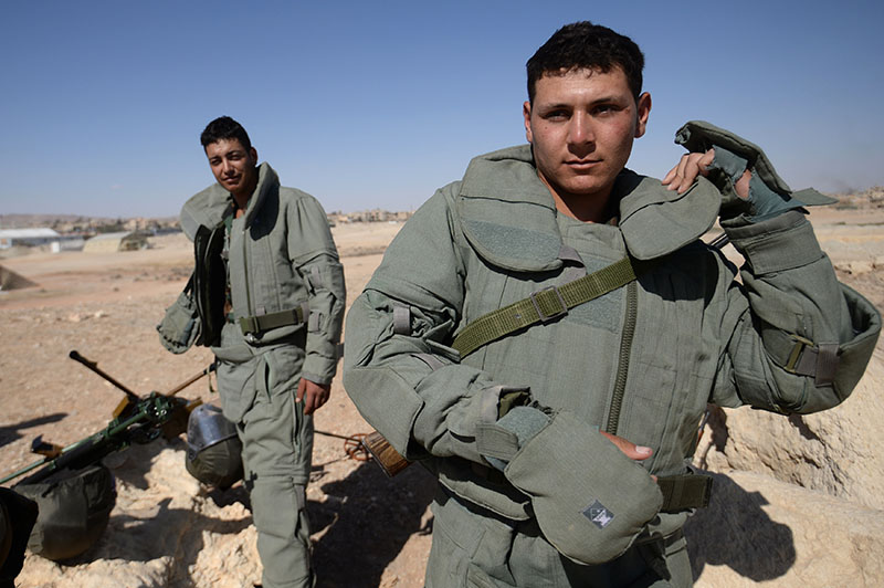 Сирийские саперы
