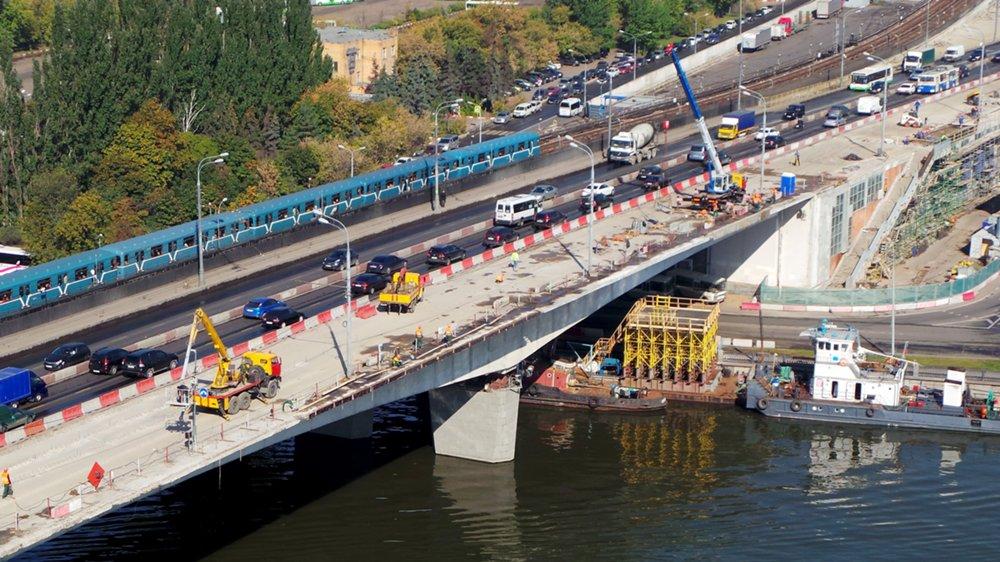 Капитальный ремонт Нагатинского моста в Москве