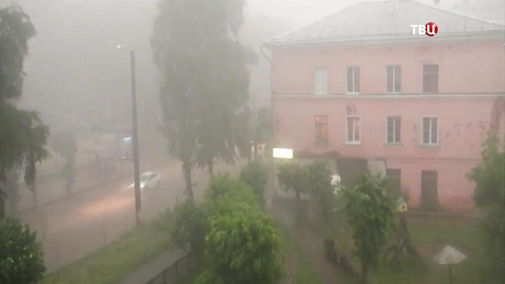 Ураган в Кирове