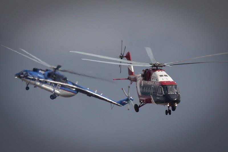 Вертолет Ми-171А2 и Ми-38