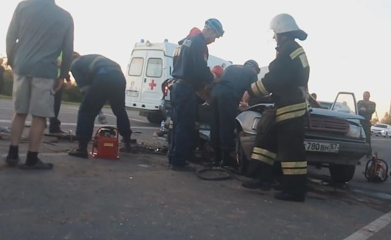 Последствия ДТП в Курской области