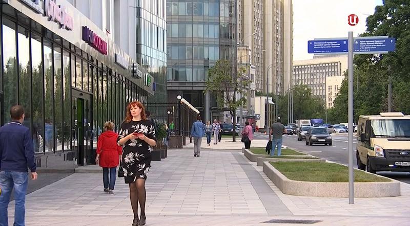 Где в столицеРФ преждевременно закончится благоустройство улиц