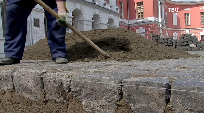 Благоустройство Тверской улицы