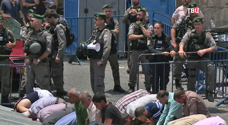 Беспорядки в Израиле