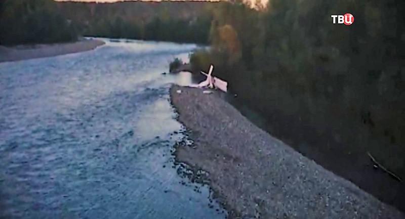Крушение самолета в Абхазии