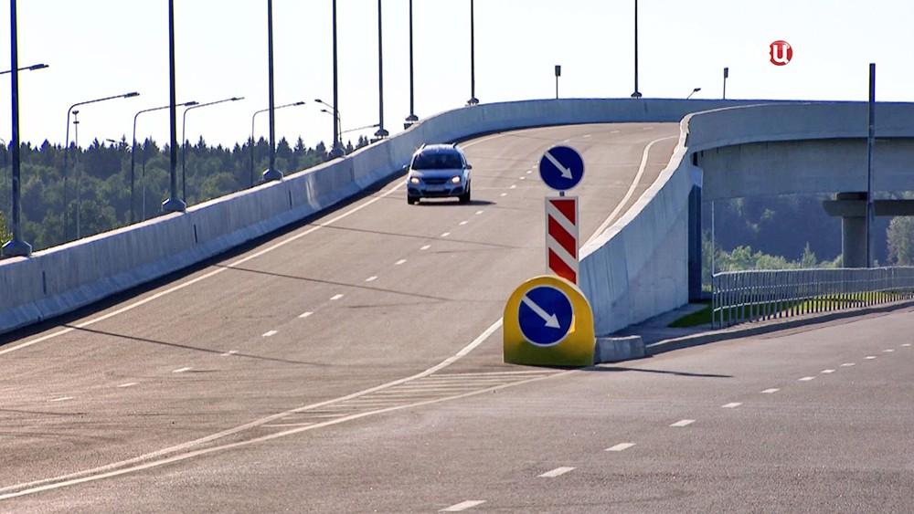 Дорожное движение в Новой Москве