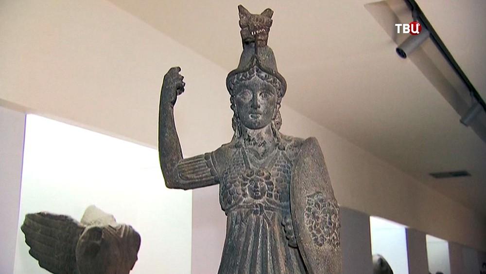 Экспонаты Исторического музея в Домаске