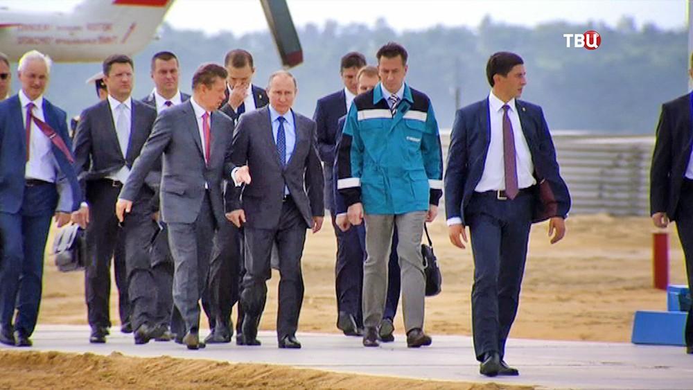 Владимир Путин в Благовещенске