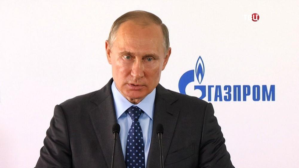 Владимир Путин на старте строительству Амурского газоперерабатывающего завода
