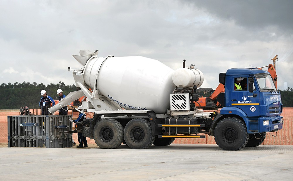 Старт строительства Амурского газоперерабатывающего завода