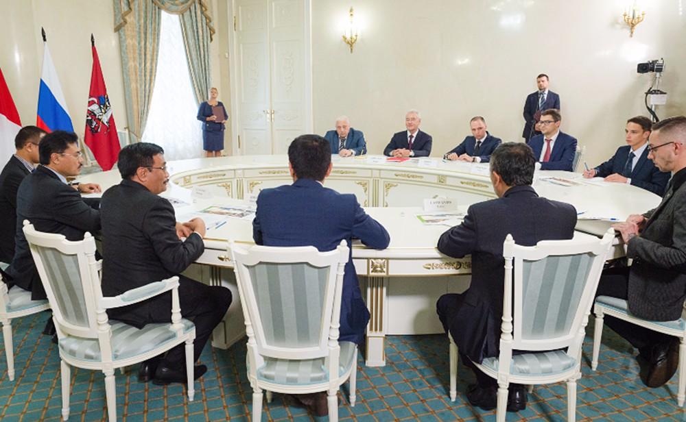 Подписание Меморандума о сотрудничестве между Москвой и Джакартой
