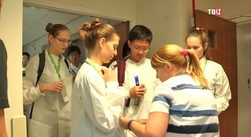Московские выпускники на международной олимпиаде по биологии