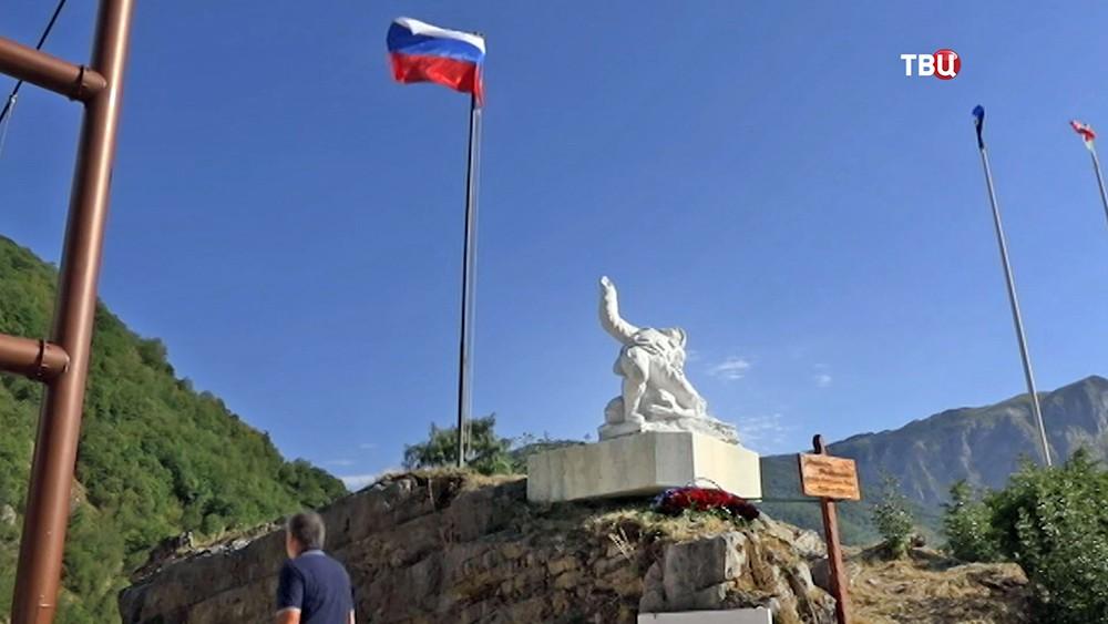 Открытие в Италии памятника погибшему под Пальмирой офицеру Прохоренко