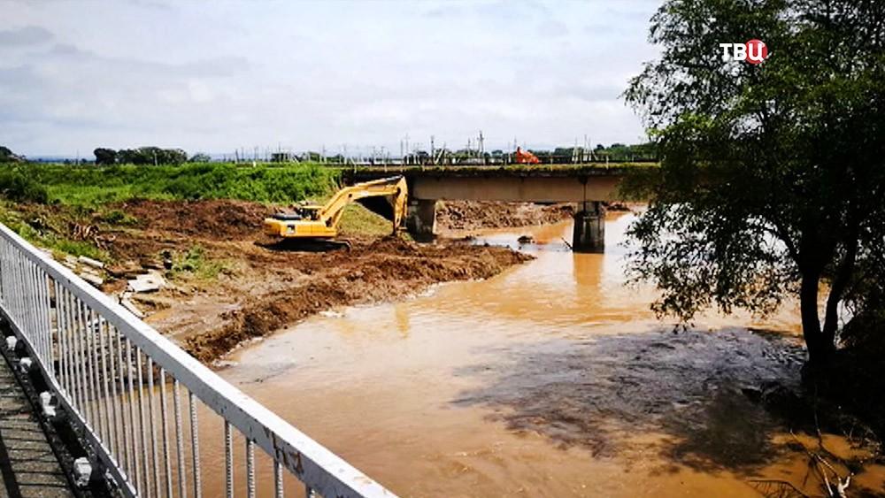 Ликвидация последствий паводка