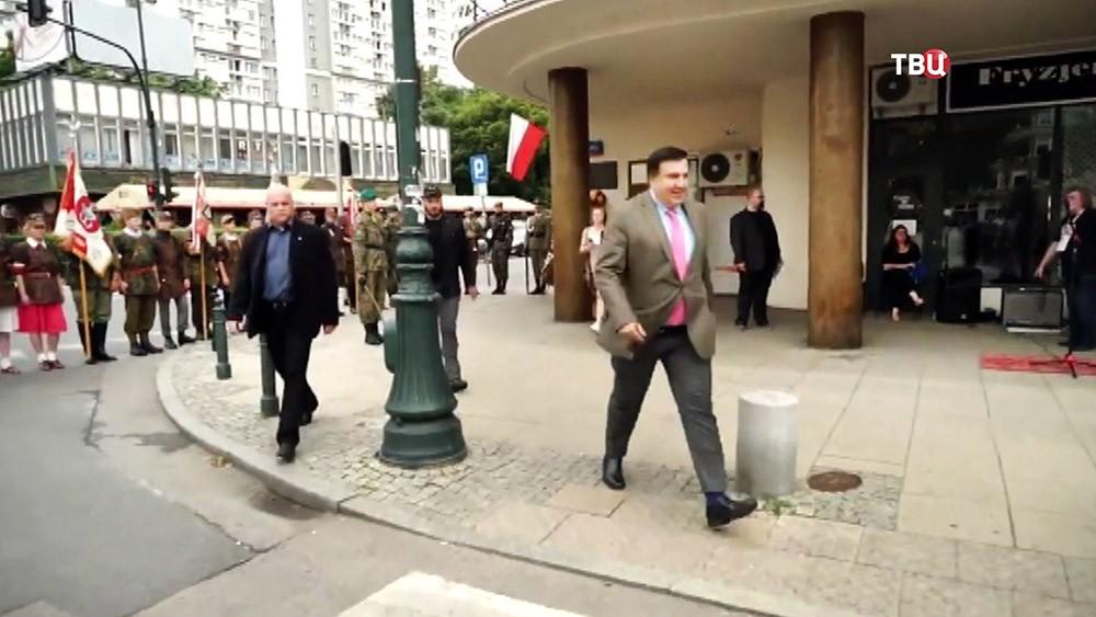 Михаил Саакашвили в Польше
