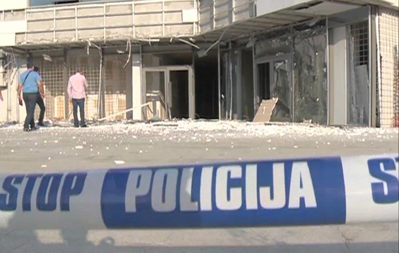 Взрыв в Черногории
