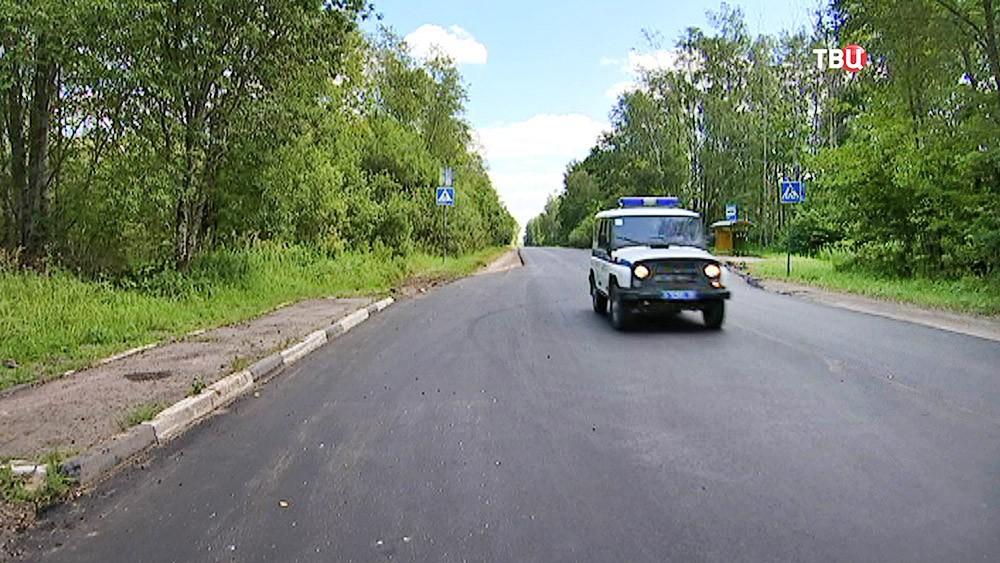 Полицейский ГАЗик