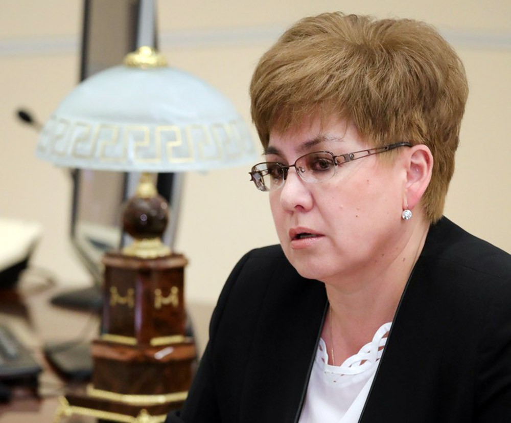 Губернатор Забайкальского края Наталья Жданова