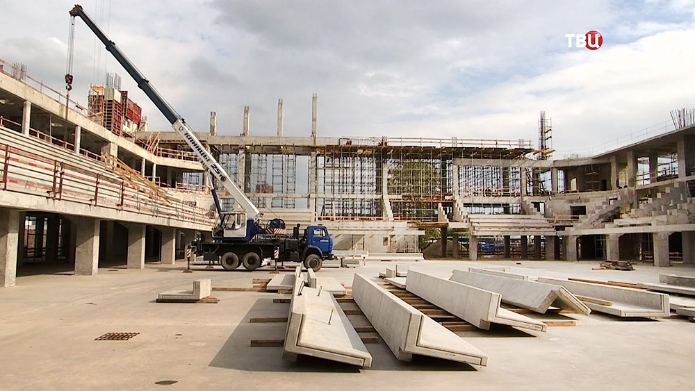 """Строительство Центра художественной гимнастики в """"Лужниках"""""""