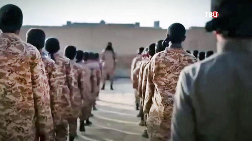 Детский лагерь террористической подготовки
