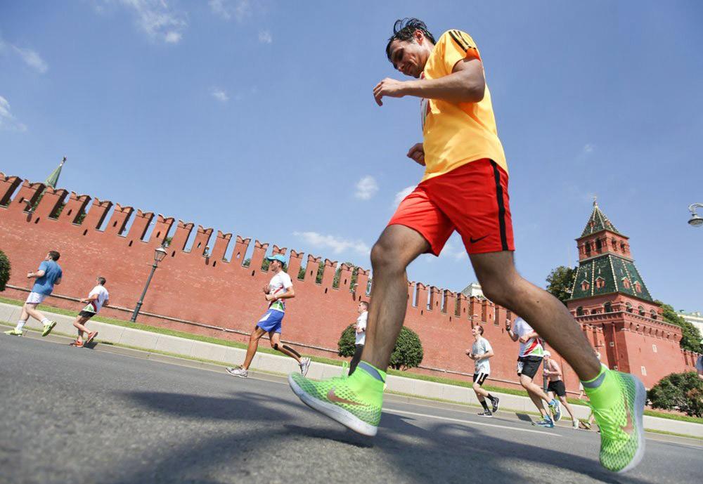 Забег в Москве