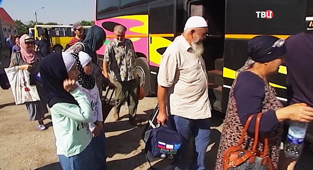 Первая группа мусульман изКрыма отправятся вхадж