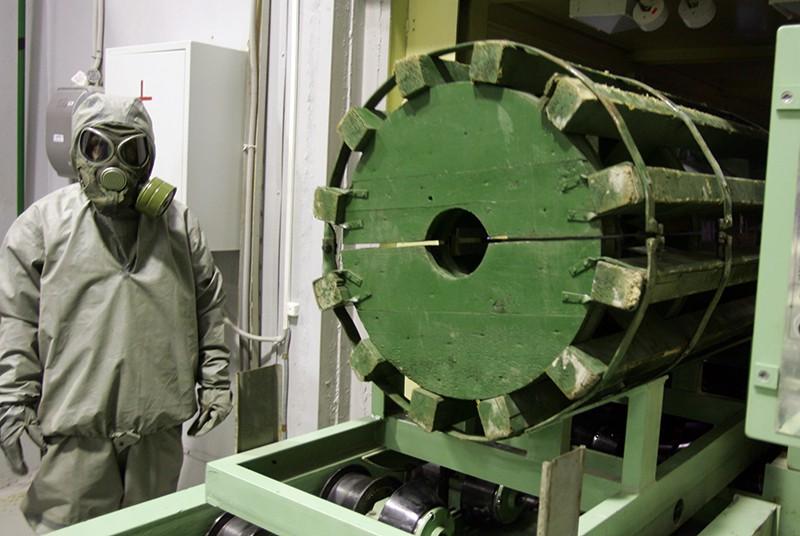 Производство химического оружия