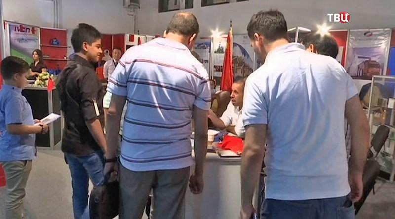 Международная промышленная выставка в Дамаске