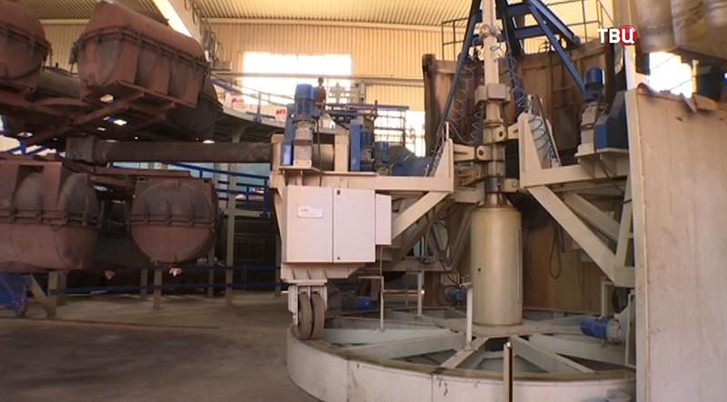 Завод по производству пластиковых изделий в Сирии