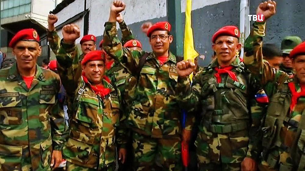 Военнослужащие Венесуэлы