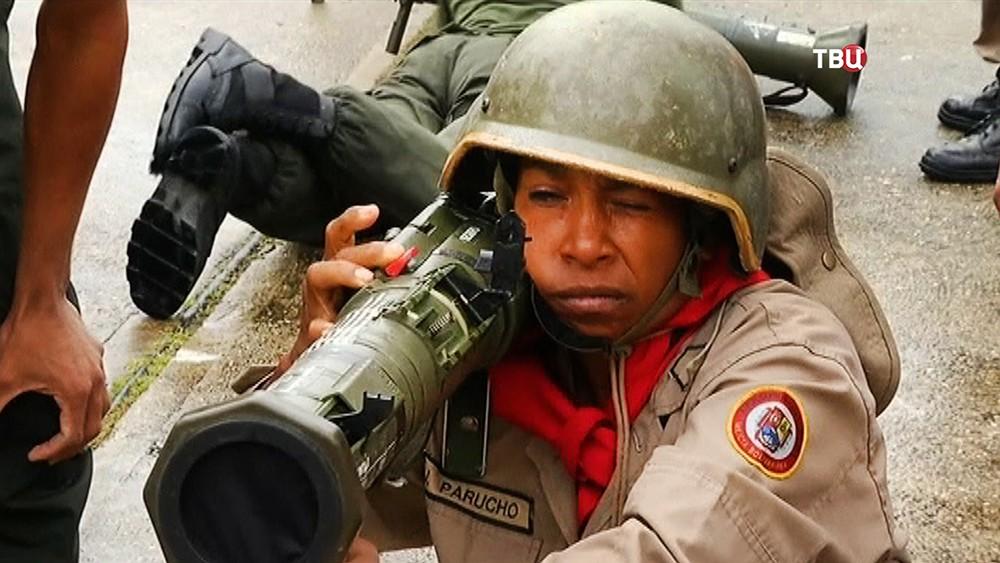 Военные учения в Венесуэле