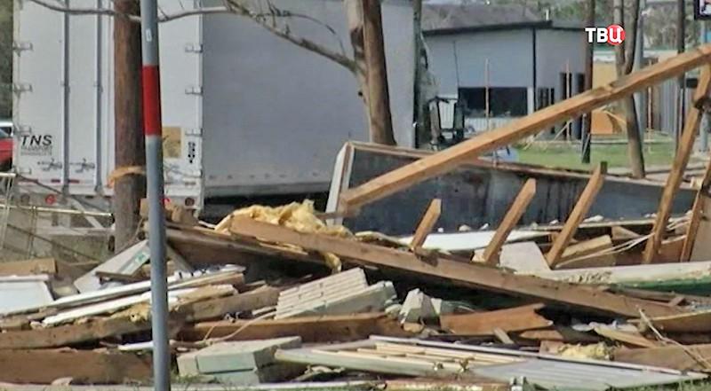"""Последствия урагана """"Харви"""" в США"""