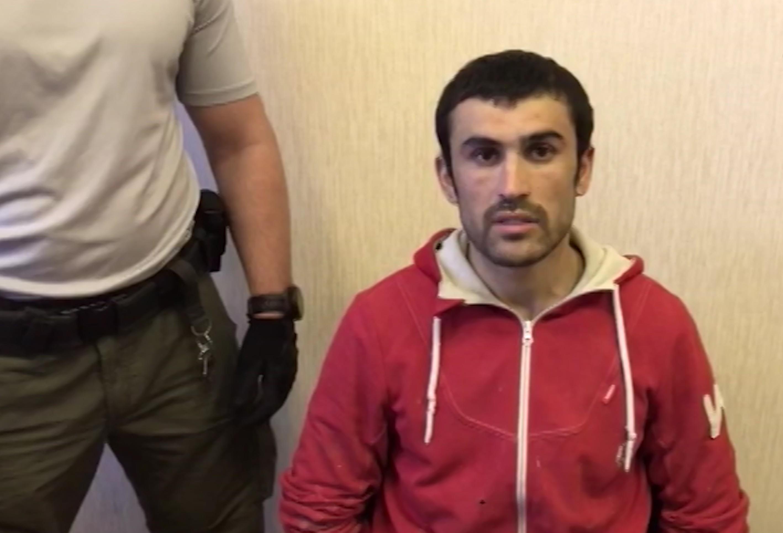 Задержанный по подозрению в террористической деятельности