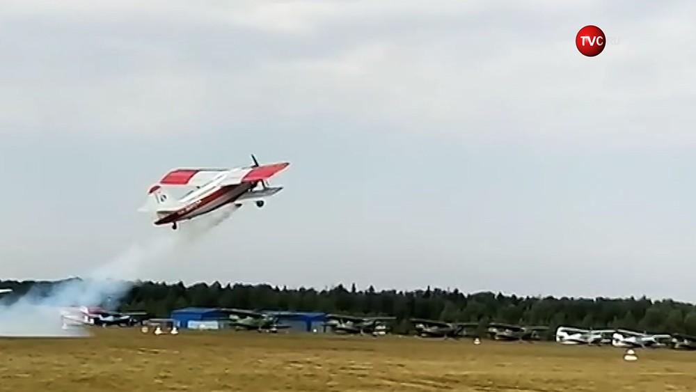 Ан-2 на авиашоу в Подмосковье