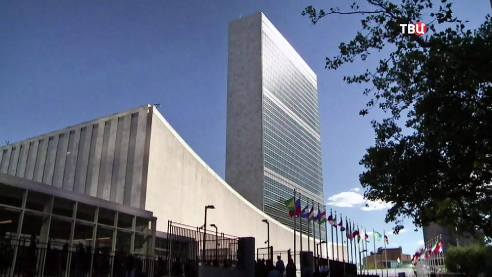 Здание ООН в США